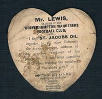 1890 Frederic H R Alderson England & Barbarians rugby legend Hartlepool Rovers Baines card